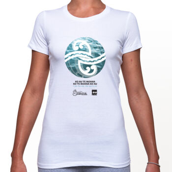 Seaweek 2020 T-Shirt Womens - White Thumbnail