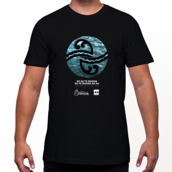 Seaweek 2020 T-Shirt Mens - Black Thumbnail
